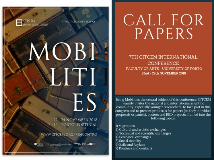 REPORT(H)A - CfP: 7TH CITCEM INTERNATIONAL CONFERENCE